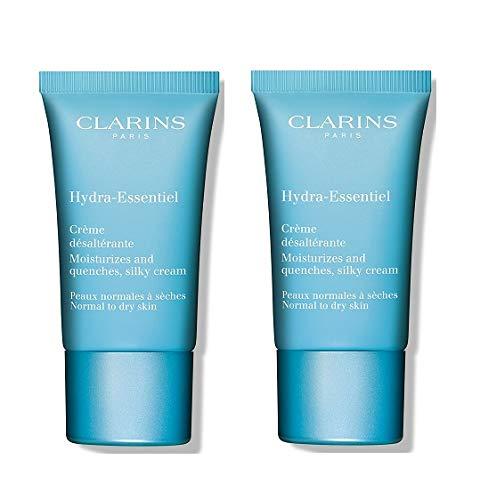 Clarins Hydra-Essentiel Feuchtigkeitscreme normale bis Trockene Haut (2x 30ml)
