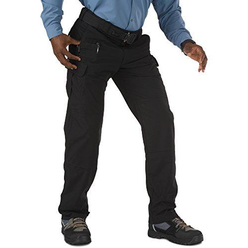 5.11 Tactical 5-74369-019-BLACK-30-28#74369 Men's Stryke EDC Pants w/Flex-Tac, Black, 42-32