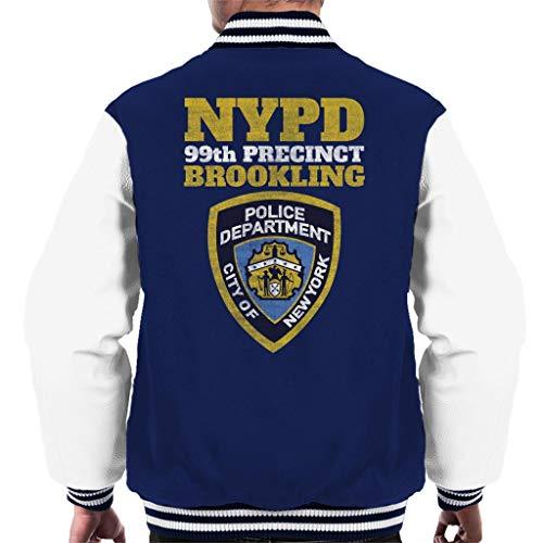Preisvergleich Produktbild Cloud City 7 Brookling 99th Precinct Brooklyn Nine Nine Men's Varsity Jacket
