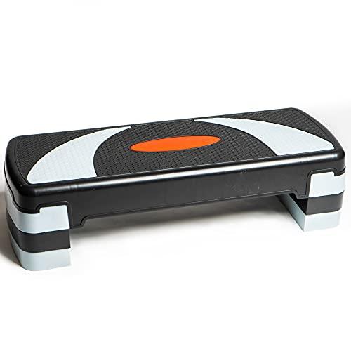 PRISP Step para Fitness 78 cm; Ajustable en 3...