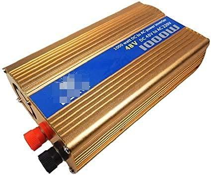 Inversor de corriente para automóvil de 1000W, 36V / 48V / 60V a 220v Inversor de energía para automóvil Convertidor de energía para automóvil Inversor de energía para automóvil para dispositivo de a