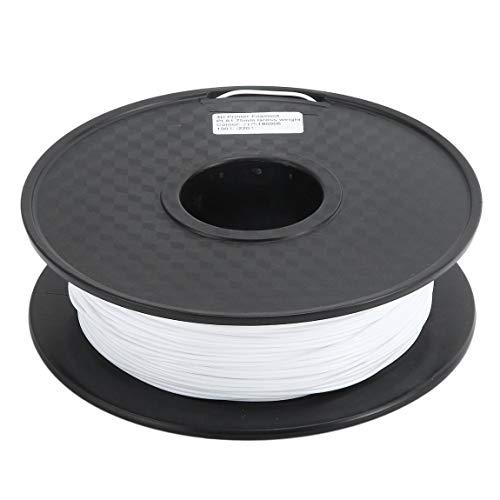 SeniorMar Material de suministros de filamento de impresión PLA en color negro/blanco/natural 1.75 mm para accesorio de filamento de pluma de impresora 3d