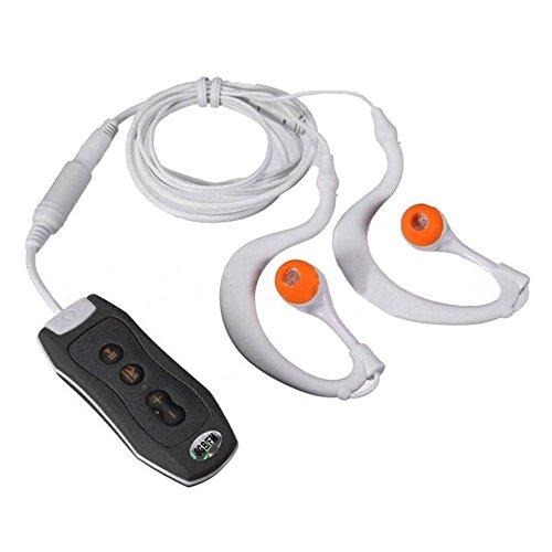Y & M (TM) Wasserdicht MP3Player, 100% IPX88GB tragbare Unterwasser Wasserdicht MP3Musik Player mit FM Radio für Schwimmen Tauchen Sport Schwarz