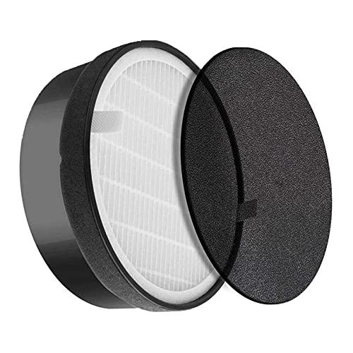 iAmoy Filtro HEPA LV-H132 de repuesto y filtros de carbón activado compatibles con el purificador de aire Levoit LV-H132-RF