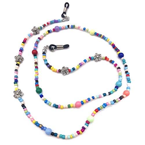 Colorful Beaded Eyeglass Holder for Women (Color 1)