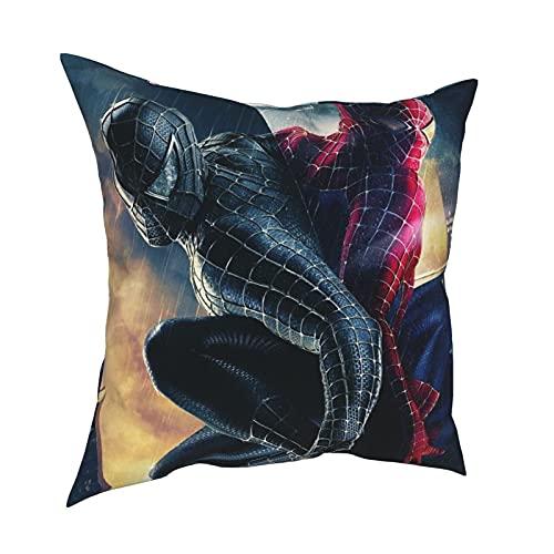 Vengadores 2 Age of Ultron Fantastic Four Peter Parker Films The Amazing Spider-Man Juego de almohada para dormitorio, sofá con antiarrugas 30,5 x 30,5 cm