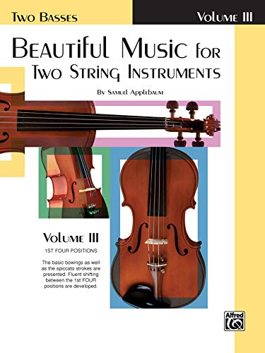 Beautiful Music for Two String Instruments, Bk 3: 2 Basses