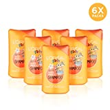 L' Oreal Kids 2 in 1 Tropical mango shampoo 250 ml Confezione da 6...