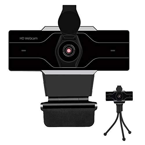 Webcam 1080P con microfono per PC, webcam Full HD USB 2.0 per videoconferenza, studio, conferenza, registrazione, gioco, apprendimento in casa, Plug and Play, con copertura privacy
