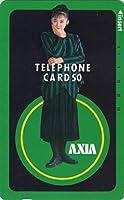 テレホンカード テレカ 斉藤由貴 AXIA ⑤ 50度数