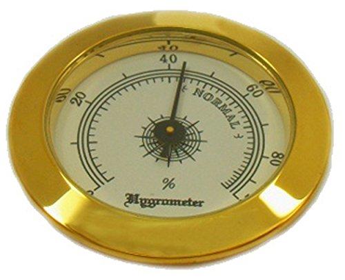 GERMANUS Hygrometer als Ersatz für Humidor 50 mm