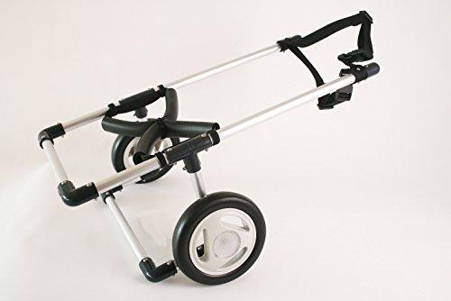 中型犬用2輪歩行器 車いす コーギー 柴犬等 Mサイズ