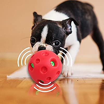 Dog Giggle Ball Toy Pet Playing Wobble Ball with Giggle Sound Pet Ball Toy
