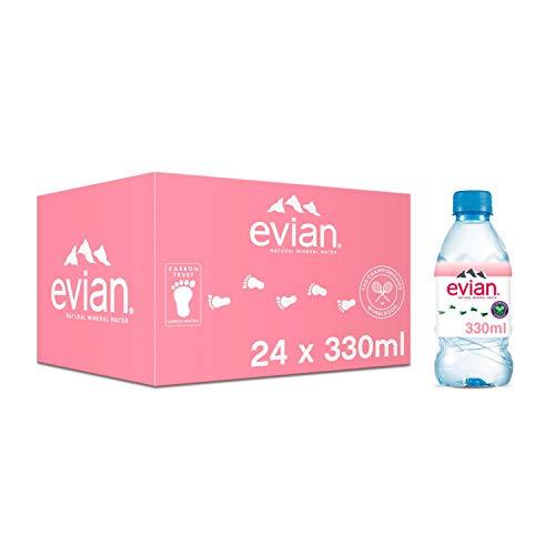 Evian Still Mineral Water, 24 x 330 ml
