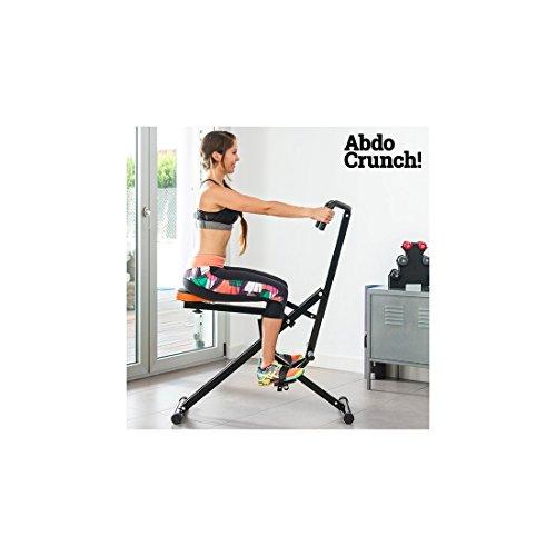 Total Crunch Abdo Fitness Attrezzo Ginnico Palestra Addominali Glutei Aerobica