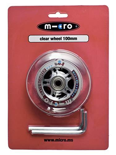 Micro Roue AR Transparente 100 mm