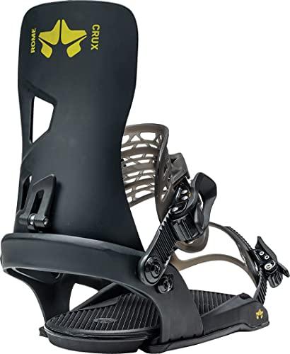 Rome Snowboards CRUX Black L-XL Fijación para Tabla de Snowboard, Hombre, Negro