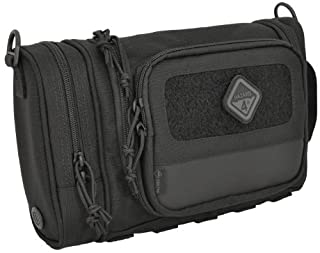 Hazard 4 Reveille Rugged Grooming Kit/Heavy-Duty Toiletry Bag, Black