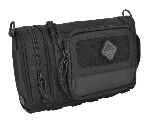 Hazard 4 (RVL-CRD-BLK) Reveille Rugged Grooming Kit/Heavy-Duty Toiletry Bag, Black