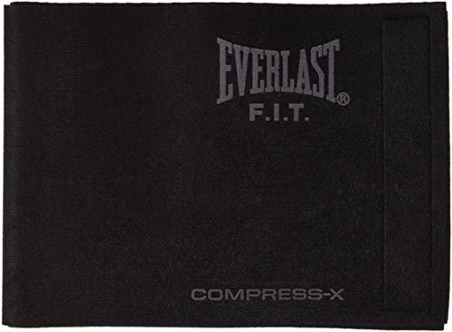 Everlast EV2458BK - Faja de neopreno, color negro