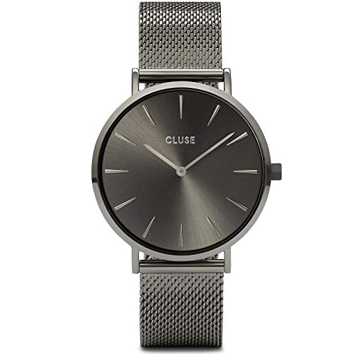 CLUSE Damen Analog Quarz Uhr mit Edelstahl Armband CW0101201022