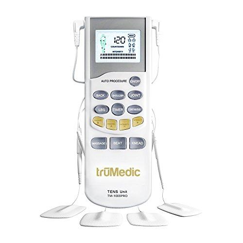 truMedic TM-1000PRO Deluxe Tens Unit for Pain Relief