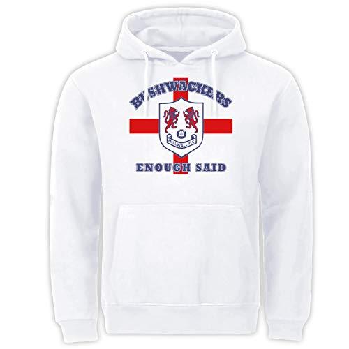 Tex-Ha Bushwackers London Football Weiss Hoodie (XL)