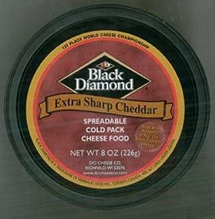 Black Diamond Canadian White Cheddar 2 Cups--8 Ounces Each