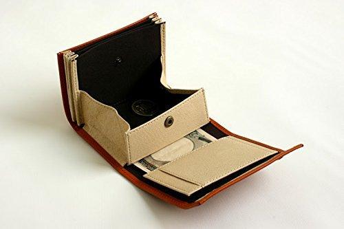 [エムピウ]m+折り財布MF2p25(cognac)