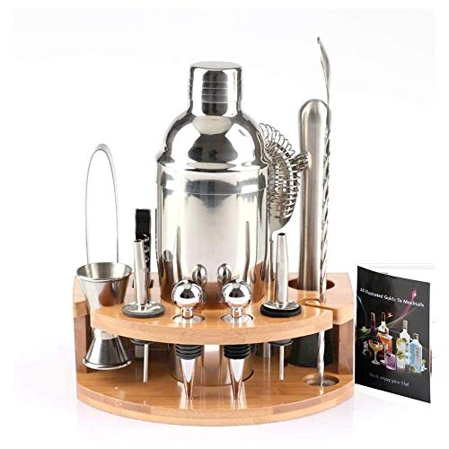 ValaVie Cocktail Shaker Set Professional...