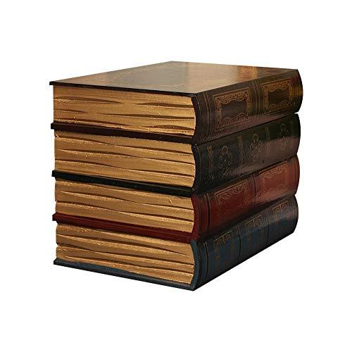 AILHL Decoraciones de Libros Falsos Vintage, Libros Falsos Retro Europeos, Modelos de Libros de Oficina, Libros de Accesorios, Adornos Decorativos