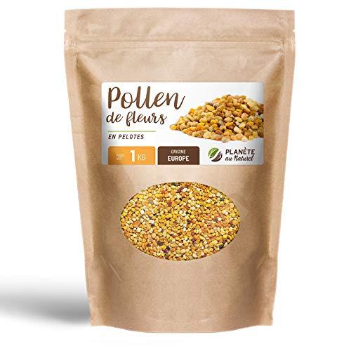 Pollen de fleurs en pelote - 1 kg - Origine Europe - Super aliment - Planète au naturel