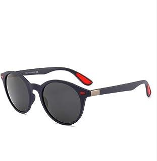SUNHAO - SUNHAO Hombre Gafas De Sol Que conducen los Deportes polarizados Gafas de Pesca Gafas de protección de Golf Estilo Ultra Ligero Aviador Espejo Retro UV Protectio