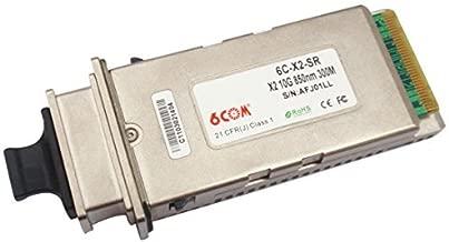6COM 10G 850nm 300m X2 SFP Transceiver compatible with cisco item number is X2-10GB-SR