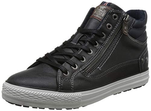 MUSTANG Herren High Top Hohe Sneaker, Grau (Graphit 259), 43 EU
