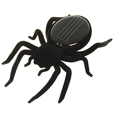 New Educational Solar powered Spider Robot Toy Gadget Gift