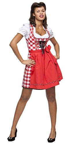 Stockerpoint Damen Joy Kleid, Rot (rot), (Herstellergröße: 40)