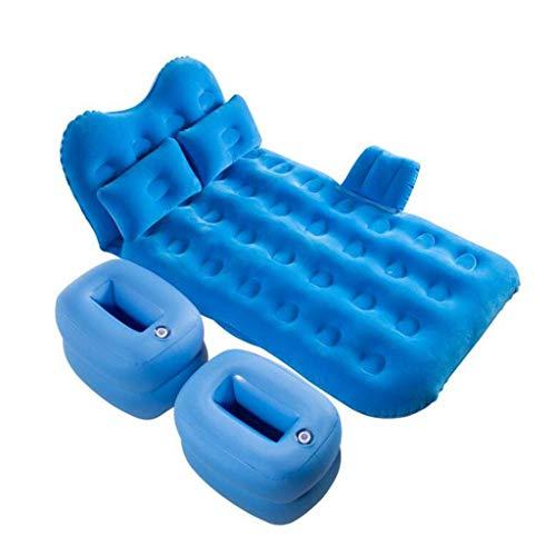 Beautiful happy Colchón de aire, colchón de aire, protector de cabeza inflable para coche, SUV, cama inflable, superficie de cama transpirable, cama individual (color: C, tamaño: 12782 cm)