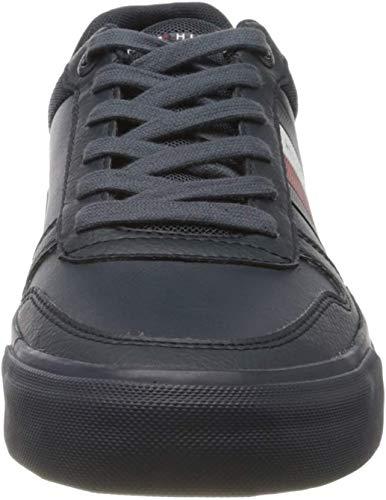 Tommy Hilfiger Herren Leon 21 Sneaker, Blau (Desert Sky Dw5), 44 EU