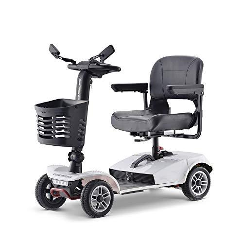 Mobility Scooter 4-wiel elektrische step voor volwassenen, zware lastvoertuigen, senioren zitscooter, afmetingen 1100 x 510 x 900 (mm)
