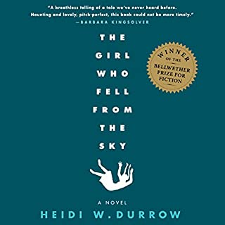 Girl Who Fell from the Sky                   Written by:                                                                                                                                 Heidi Durrow                               Narrated by:                                                                                                                                 Karen Murray,                                                                                        Emily Bauer,                                                                                        Kathleen McInerney                      Length: 6 hrs and 57 mins     2 ratings     Overall 5.0