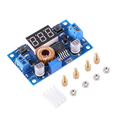 Chacerls 1pc DC-DC Buck convertidor regulador de Voltaje módulo Reductor 5A 4.0V ~ 38V a 1.25V ~ 36V Ajustable