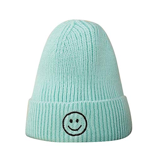 waotier Sombrero de Punto Niña Chicos Moda Mantener abrigado A Prueba de Viento Sombreros de Invierno Gorro de Lana de Punto Gorra de esquí