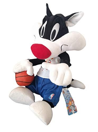 NBA Looney Tunes Peluche Gatto Silvestro Posable 50 Cm