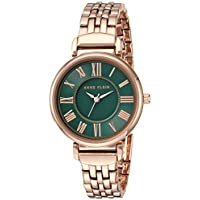 Anne Klein Women's Bracelet Watch (AK/2158GNRG)
