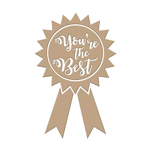 Spellbinders You're The Best Glimmer Hot Foil Plate, Metal