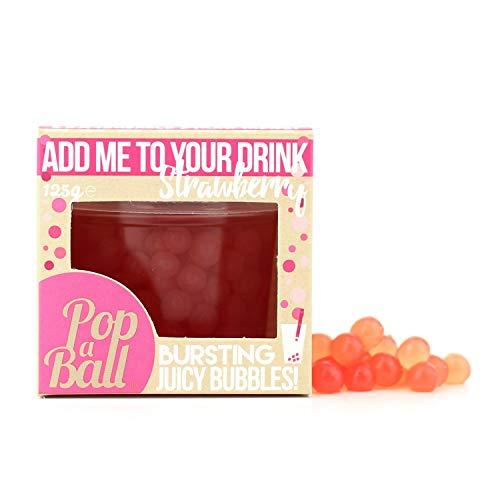 Popaball Berstende Fruchtperlen mit Erdbeergeschmack, 125 g