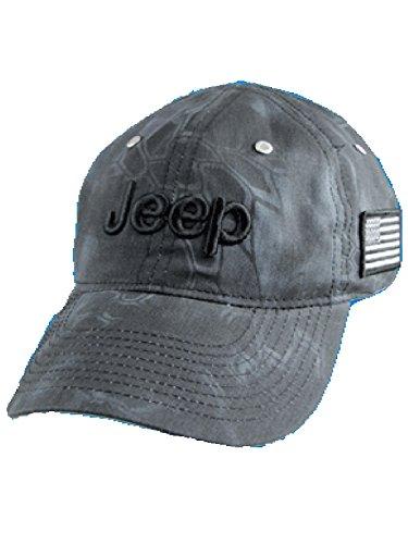 Jeep Charcoal Typhon Camo Cap