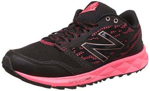 Zapatillas de trail running 590 para mujer, negras / rosadas, 9.5 B US