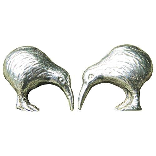 """Boutons de Manchette """"Kiwis"""" en Etain Fin - Fabrication Francaise"""